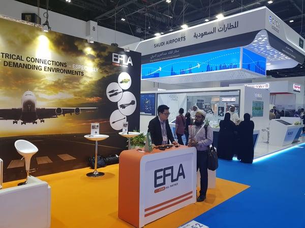 EFLA at Dubai Airport Show 2018