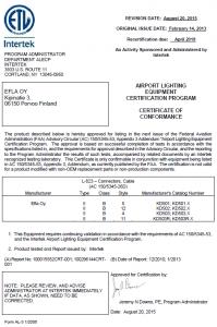 FAA L-823 KD-501-502-503 1-2013