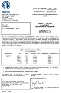 FAA L-831 (50Hz) KR5XX.1