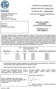 FAA L-831 (50Hz) KR6XX.1 – 1/3
